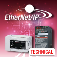 Connecting Mitsubishi Electric FR-E800 VFDs to an Ethernet/IP Network