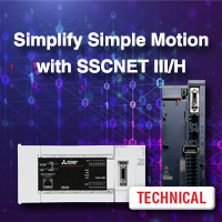 Simplify Simple Motion with SSCNET III/H