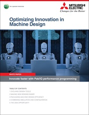 Optimizing Innovation in Machine Design White Paper Cover