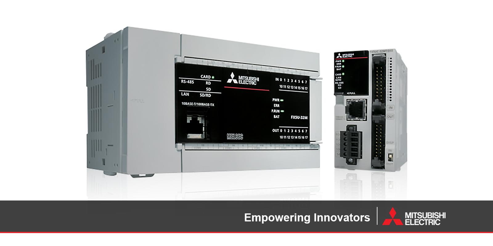Mitsubishi Electric - iQ-F Series Compact Controller