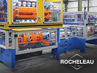 "Rocheleau Tool's Blow Molding Machines ""Only Have to Run Forever"""