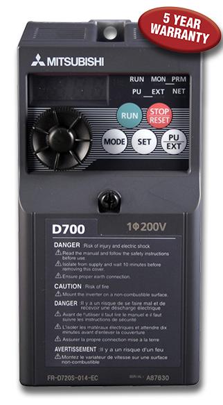 fr d700 series vfd overview mitsubishi electric americas rh us mitsubishielectric com Typical VFD Control Schematics VFD Motor Wiring